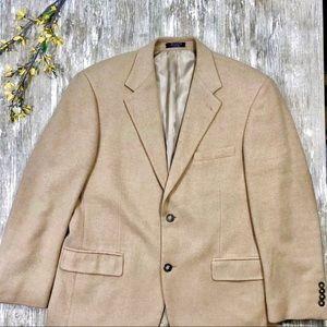 {Andrew Fezza} Men's 40S Camel Hair Sport Coat